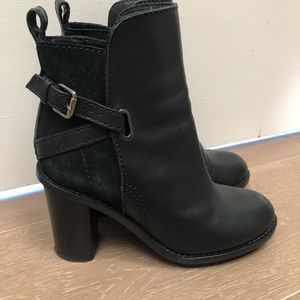 Acne size 8 ankle boots